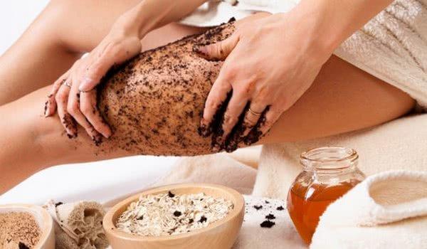 Антицеллюлитный кофейно-медовый скраб для тела в домашних условиях
