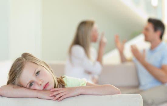 Как выяснять отношения при ребенке?