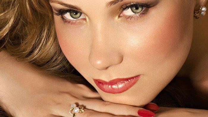 Повседневный макияж для зеленых глаз на каждый день