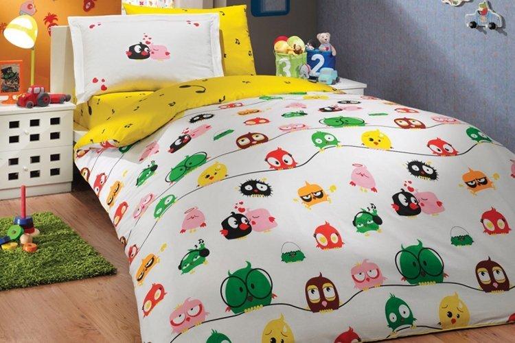 Правильный выбор постельного белья для ребенка