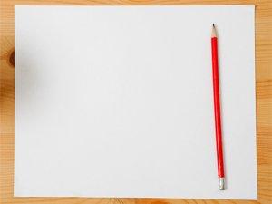 Бумага и карандаш для рисования
