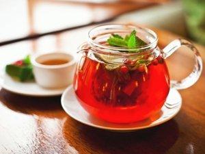 Чай из клюквенных листьев