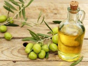 Оливковое масло для смывки краски