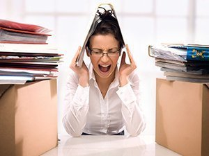 Стрессы - причина болей внизу живота