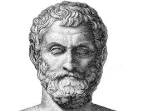 Древнегреческий философ и математик Фалес