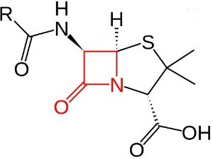 Формула пенициллина