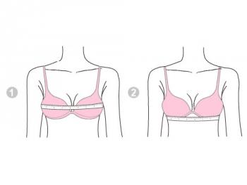 Параметры для измерения груди