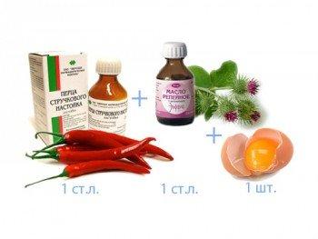 Использование репейного масла в составе масок