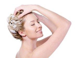 Мытье головы перед завивкой