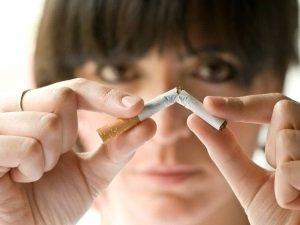 Отказ от курения для набора веса