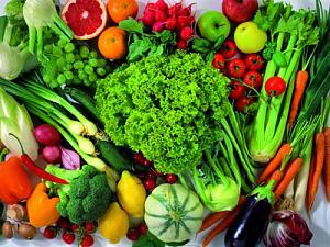 Фрукты и овощи при лямблиозе