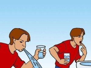 Промывание желудка дома
