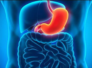 Рисунок воспаленного желудка