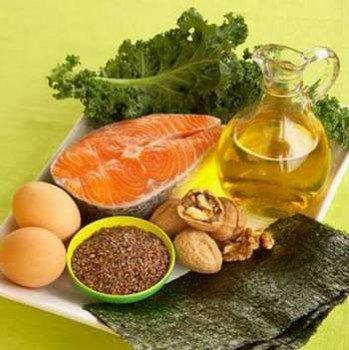 Рыба яйца орехи масло и другие продукты