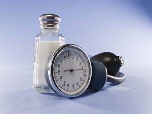 Уменьшение количества употребляемой соли при низком давлении