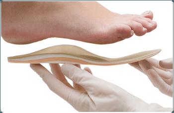 Стопа и ортопедическая стелька