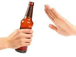 Отказ от алкоголя при приеме препарата