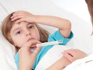 Температура как симптом наличия лямблий у ребенка
