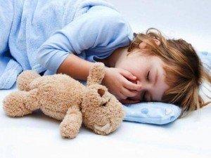 Тошнота как симптом наличия лямблий у ребенка