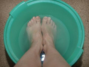 Лечебные ванночки для восстановления пяток
